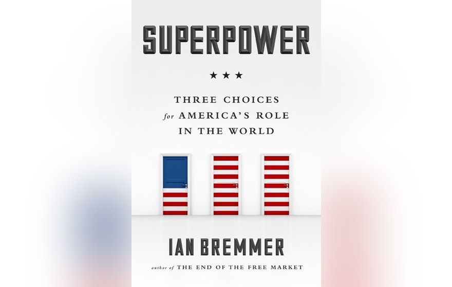Ian Bremmer Superpower book cover