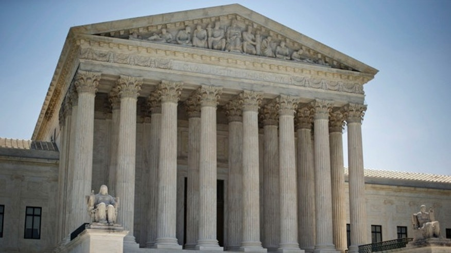This Monday, June 30, 2014 file photo shows the Supreme Court building in Washington.