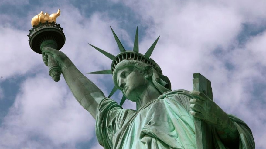 FILE -- June 2, 2009: The Statue of Liberty is seen in New York Harbor