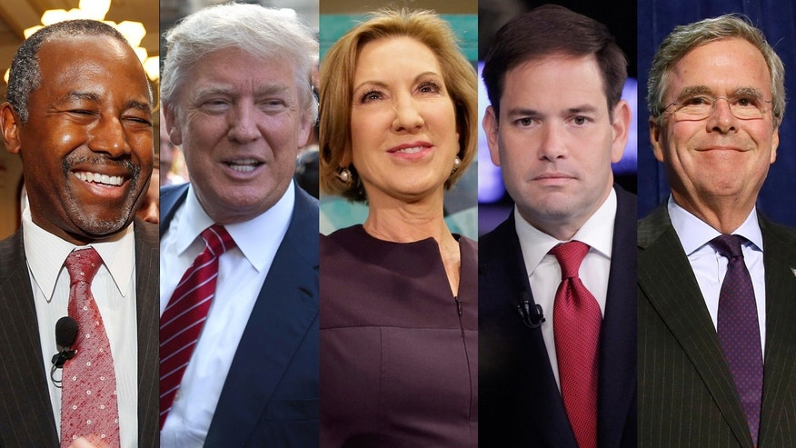 Top GOP 2016 Candidates FNC
