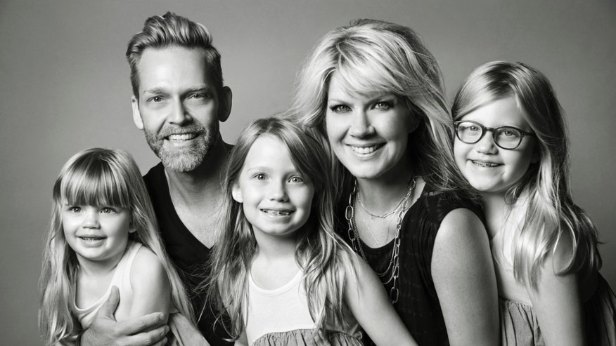 Natalie Grant and her family (Photo by Dominique Guillemot)