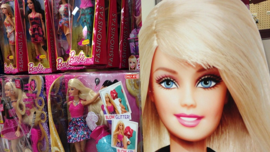 Oct. 14, 2014 - File photo of Barbie dolls at a retail store in Encinitas, California. (REUTERS)