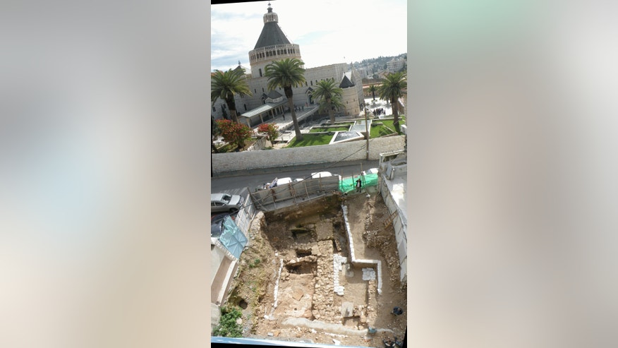 Stone house discovered in Nazareth, Israel (photo from Mary of Nazareth Center)