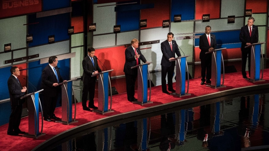 Fox Business News GOP Debate.