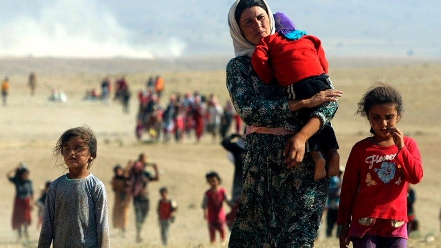 Yazidi women have been persecuted by the brutal ISIS militants. (Reuters)