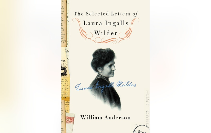 Book cover Selected letters of Laura Ingalls Wilder