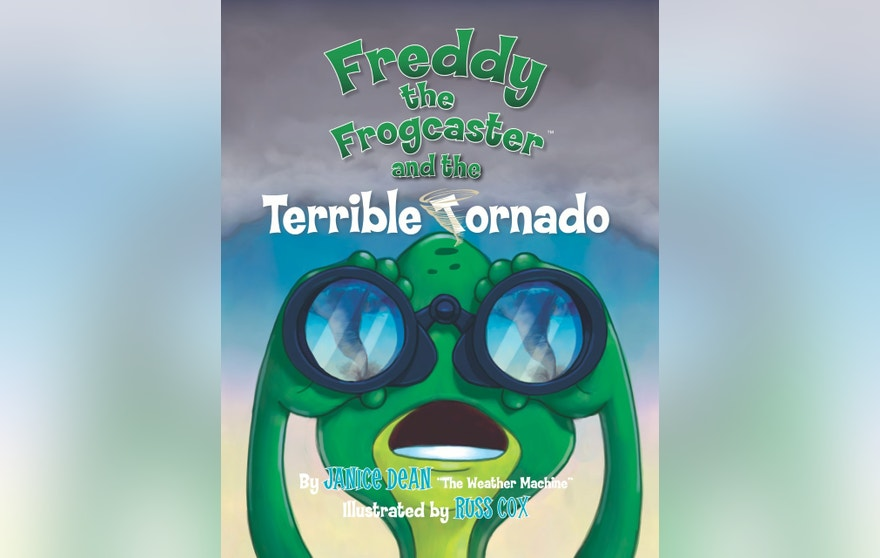 Freddy Terrible Tornado book cover
