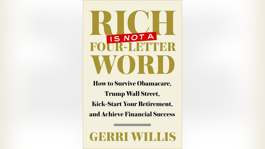 book cover rich is not a four