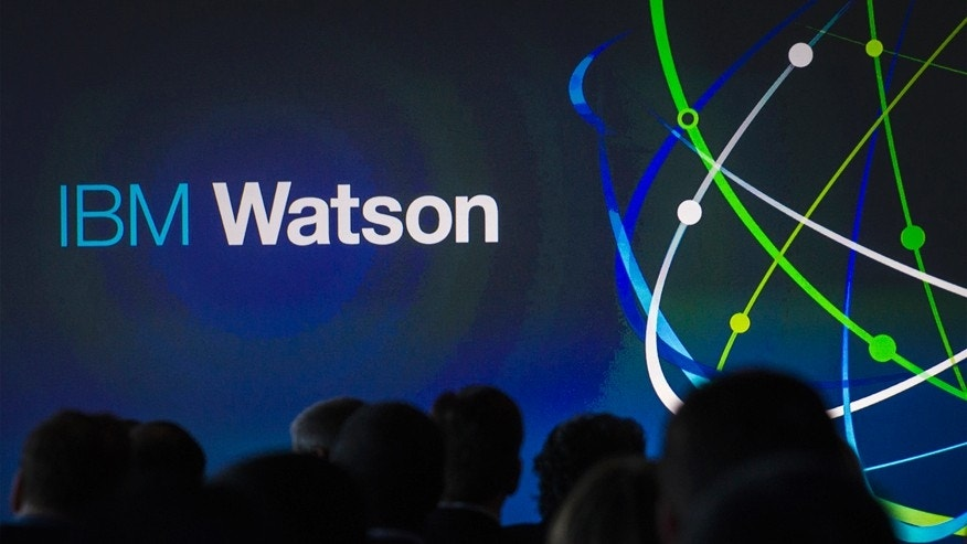 FILE -- Jan. 9, 2014: Attendees gather at an IBM Watson event in New York City.