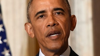 President Barack Obama speaks at the Treasury Department in Washington, Tuesday, June 14, 2016, after meeting with his National Security Council to get updates on the investigation into the attack in Orlando, Florida and review efforts to degrade and destroy ISIL. (AP Photo/Susan Walsh)