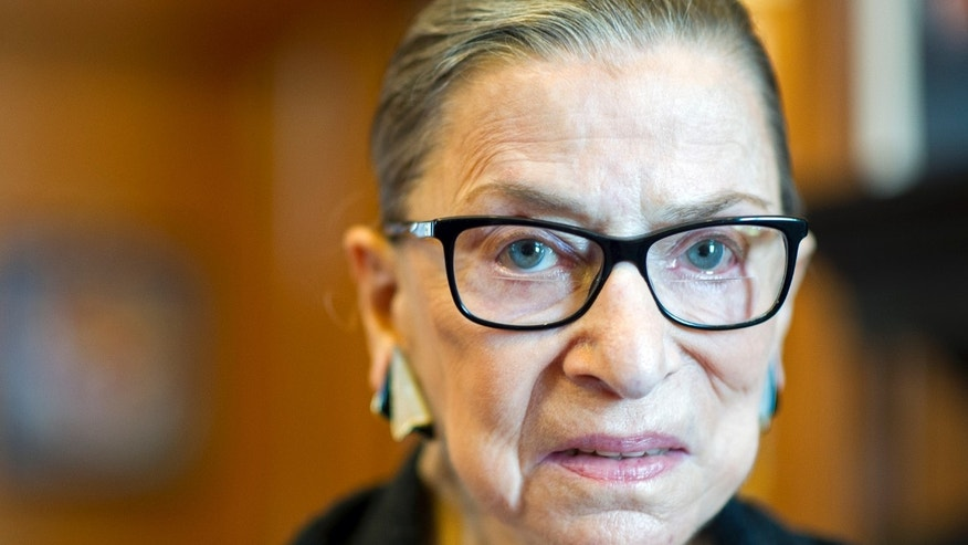 FILE -- Supreme Court Justice Ruth Bader Ginsburg.