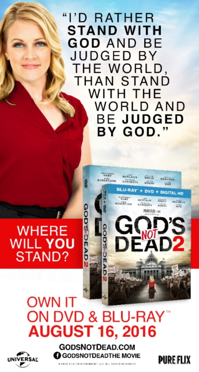 'God's Not Dead 2' ad rejected at Cleveland convention for being 'way too incendiary'