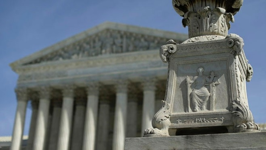 March 14, 2014: The exterior of the U.S. Supreme Court in Washington, D.C.