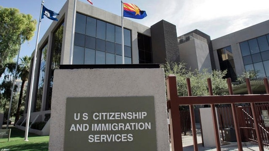 Shown here is a U.S. Citizenship and Immigration Services building in Phoenix, Ariz.