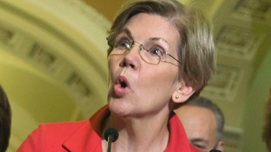 FILE -- Sen. Elizabeth Warren (D-Mass.)