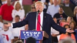 Republican presidential candidate Donald Trump speaks during a campaign rally, Wednesday, Oct. 12, 2016, in Ocala, Fla. (AP Photo/ Evan Vucci)