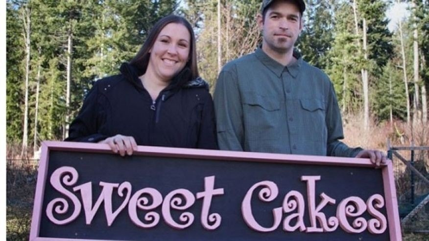 Aaron and Melissa Klein, Sweet Cakes By Melissa owners