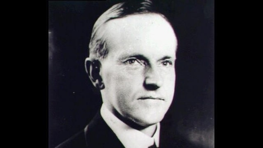 FILE --  The 30th President of the United States, Calvin Coolidge.