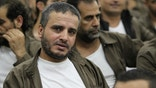 Ahmed Daqamseh, a Jordanian soldier convicted of killing seven Israeli schoolgirls on March 13, 1997, is seen at Um Alluol prison in the city of Mafraq, Jordan, August 7, 2012. Picture taken August 7, 2012. REUTERS/Muhammad Hamed      TPX IMAGES OF THE DAY - RTX30MP7