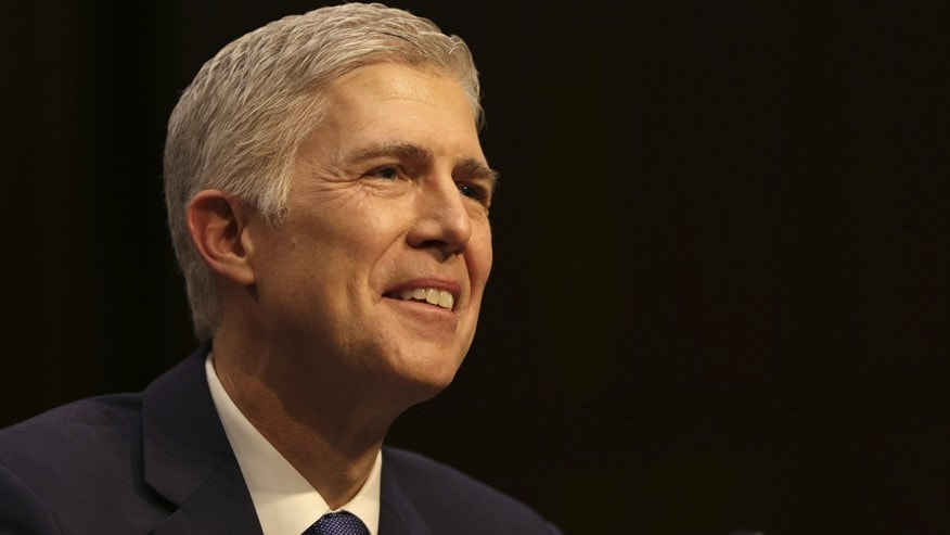 Neil Gorsuch smiles FOX pic