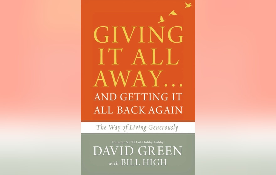 Giving It All Away David Green book cover