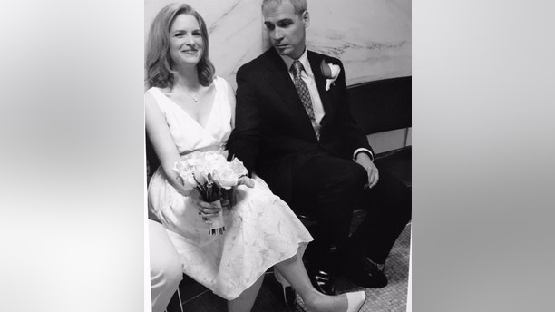 Janice Dean wedding day