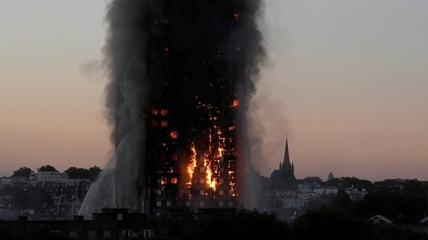 Anger mounts over London tower blaze