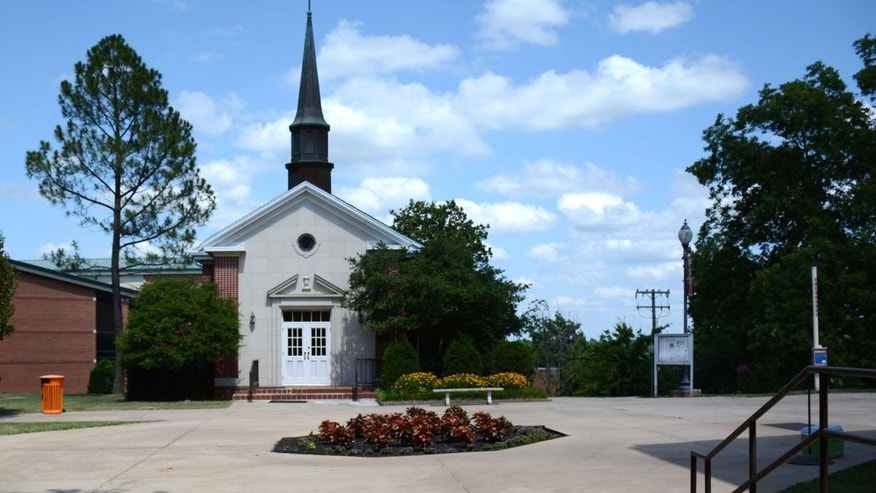 Kathryn P. Boswell Memorial Chapel, on the campus of East Central University.