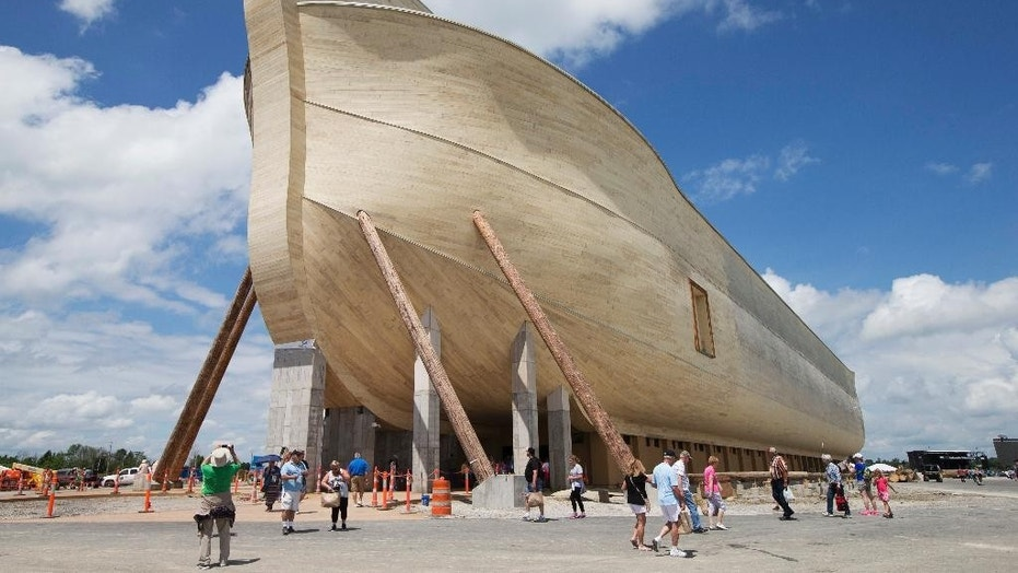 The Ark Encounter theme park will have new permanent rainbow lights, Answers in Genesis founder Ken Ham wrote.