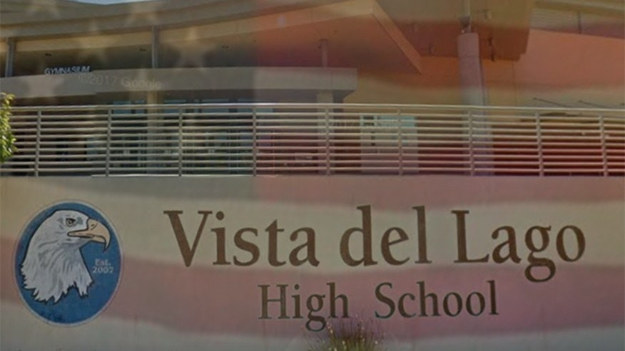 """Vista Del Lago High School asked students not to chant """"U-S-A"""" at games and rallies, according to a report."""