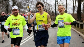 Michael Levin marathon photo