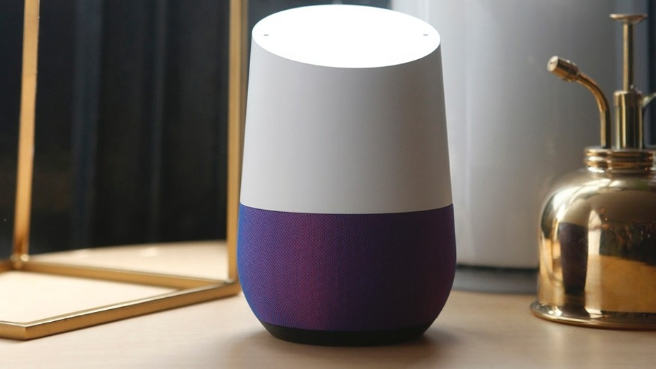 FILE    Google Home Is Displayed During The Presentation Of New Google  Hardware In San