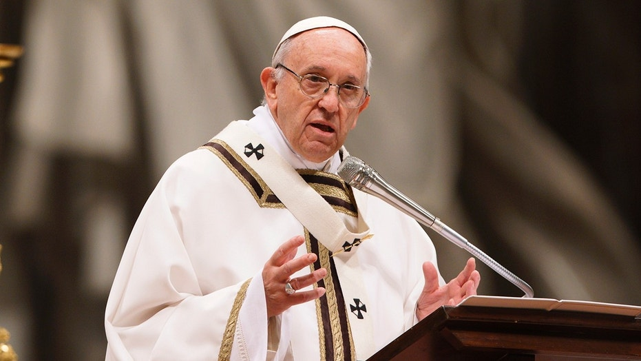 Pope Francis condemns prostitution as torture