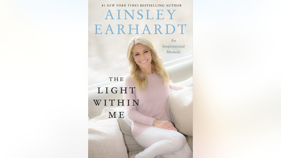 Ainsley book cover light within me