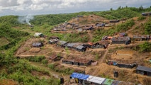 Newly set up tents cover a hillock at a refugee camp for Rohingya Muslims who crossed over from Myanmar into Bangladesh, in Taiy Khali, Bangladesh, Wednesday, Sept. 27, 2017. (AP Photo/Dar Yasin)