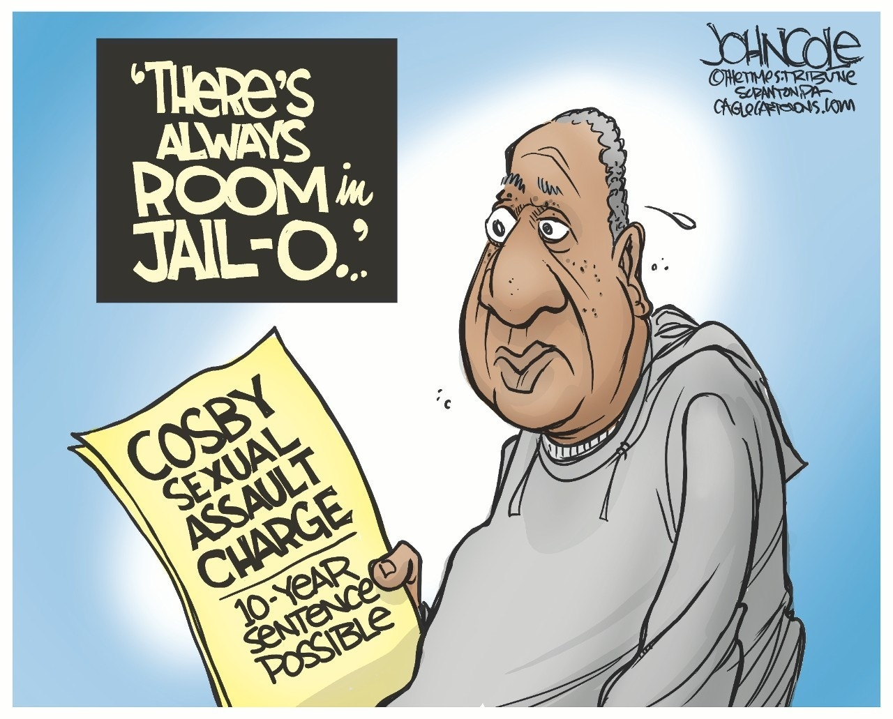 Cosby charged: John Cole, The Scranton Times-Tribune