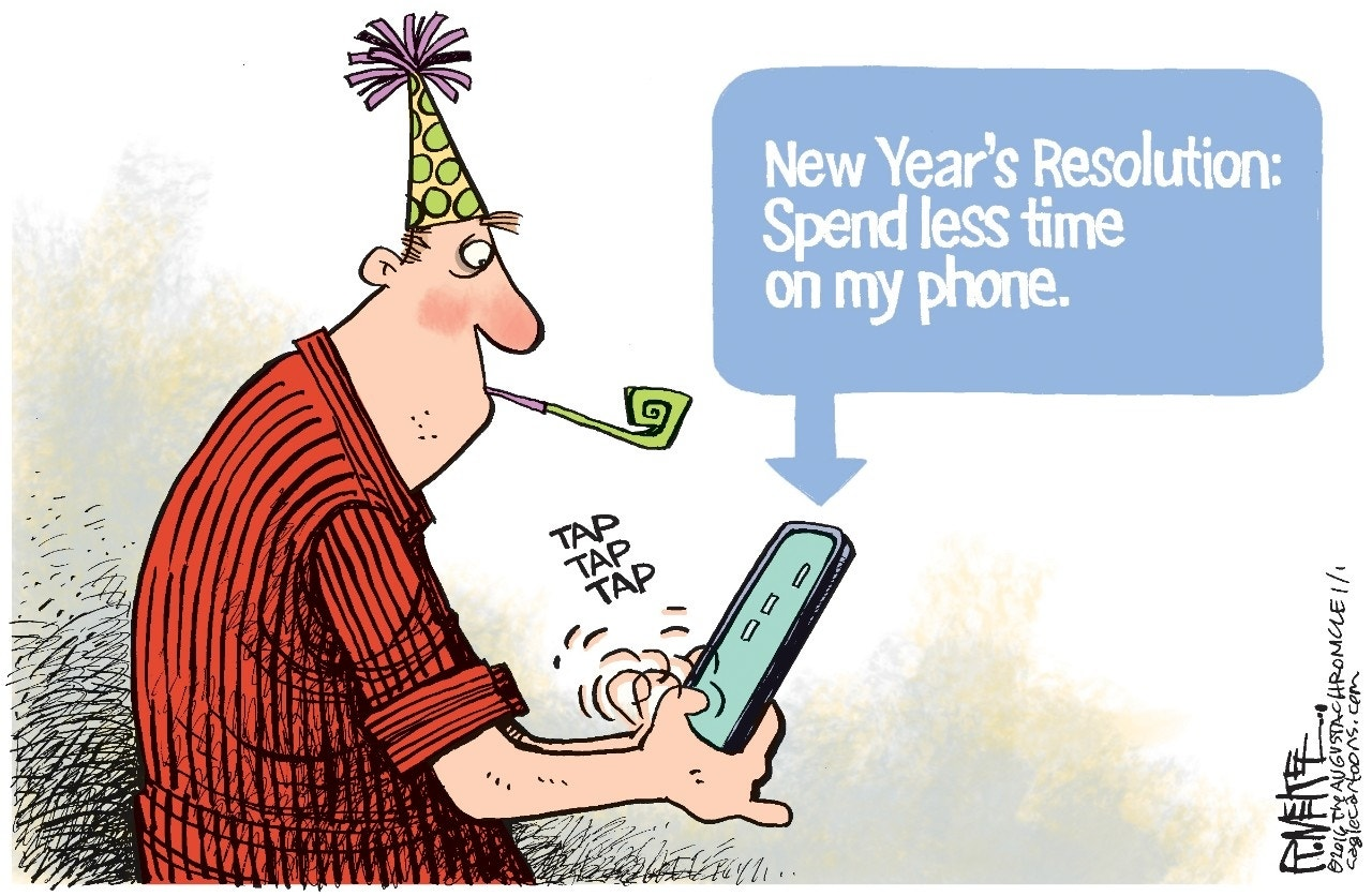 2016 Resolution: Rick McKee, The Augusta Chronicle
