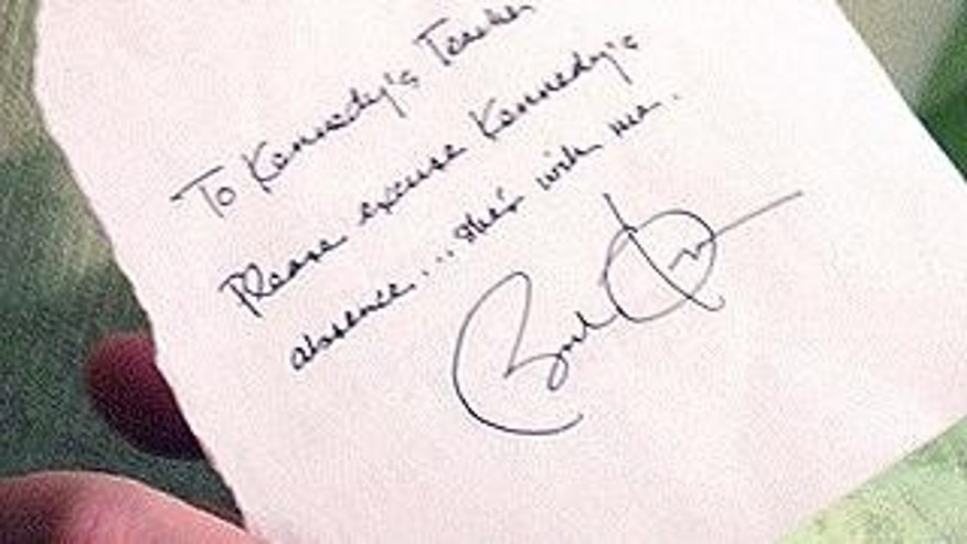 Shes With Me Obama Writes Girl Absence Note – Absence Note
