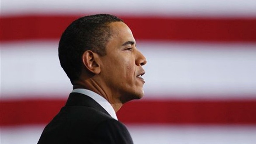 President Barack Obama speaks at Wright Middle school in Madison, Wis, Wednesday, Nov. 4, 2009.  (AP)