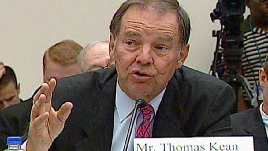 In this 2004 file photo, Thomas Kean is seen testifying on Capitol Hill. (AP Photo)