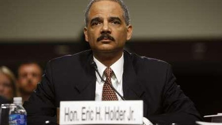 Attorney General Eric Holder testifies before the Senate Judiciary Committee on Capitol Hill Nov. 18. (Reuters Photo)