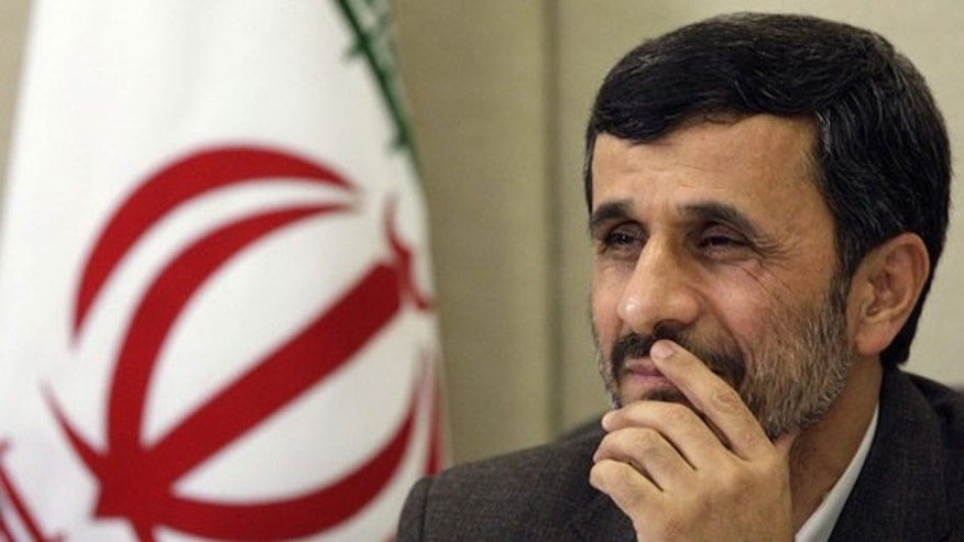 Nov. 23: Iran's President Mahmoud Ahmadinejad attends a news conference in Brazil (Reuters).