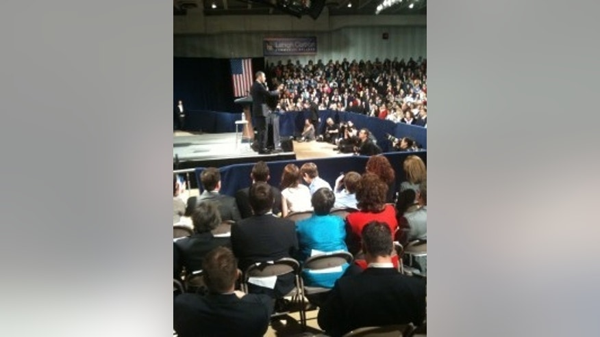 President Obama makes remarks in Pennsylvania