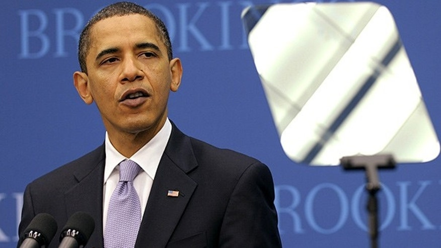 Dec. 8: President Obama speaks at the Brookings Institution in Washington. (AP)