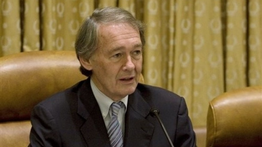 Oct. 29: House Select Energy and Global Warming Committee Chairman Rep. Edward Markey, D-Mass, presides over a committee hearing. (AP Photo)