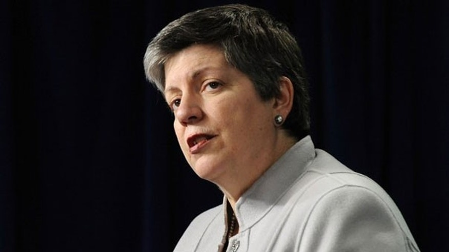 Secretary of Homeland Security Janet Napolitano