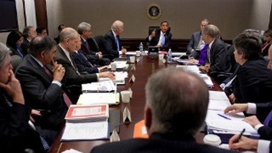 President Obama meets with his national security team. January 5, 2010. White House Photo