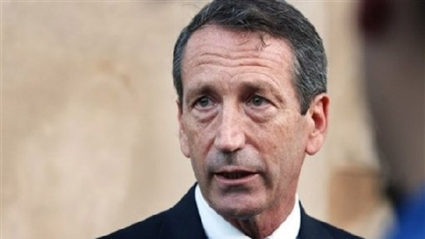 Dec. 9: Gov. Mark Sanford expresses his gratitude about the decision made not to recommend his impeachment by the State House judiciary subcommittee in Charleston, S.C. (AP)