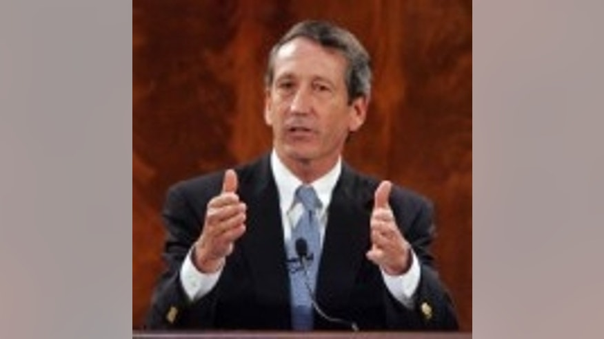 SC Gov. Mark Sanford delivers his last State of the State address in Columbia, SC on Jan. 20, 2010 (AP Photo)