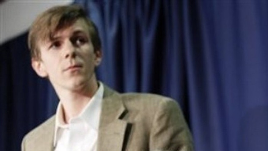 James O'Keefe takes part in a news conference, Wednesday, Oct. 21, 2009, at the National Press Club in Washington. (AP)